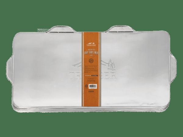 ציפוי אלומיניום חד פעמי למגש איסוף של מעשנה טרייגר גריל דגם טימברליין 1300 טרייגר גריל מעשנות בשר