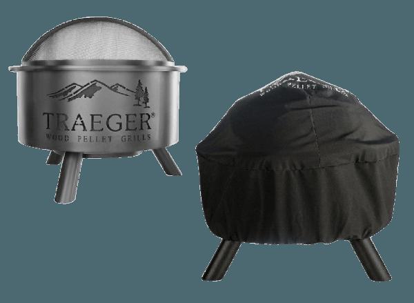 כיסוי למנגל דגם פייר פיט - טרייגר גריל מעשנת בשר ושבבי עץ לעישון