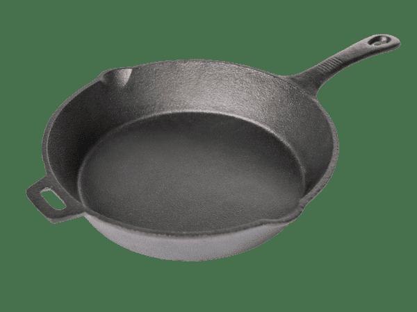 מחבת יציקת ברזל - Traeger Grill מעשנת בשר