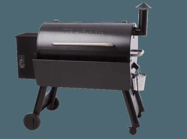 מדף קדמי מתקפל למעשנת בשר וגריל בשר של טרייגר גריל מדגם פרו 34 - טרייגר גריל מעשנה