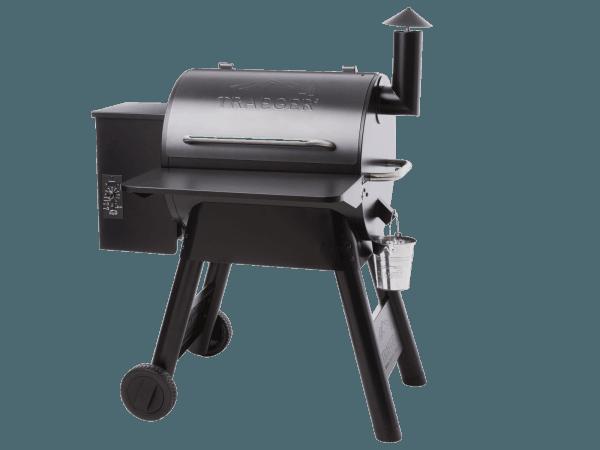 מדף קדמי מתקפל למעשנת בשר וגריל בשר של טרייגר גריל מדגם פרו 22 - טרייגר גריל מעשנה