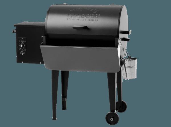 מדף קדמי מתקפל למעשנת בשר וגריל בשר של טרייגר גריל מדגם פרו ברונסון - טרייגר גריל מעשנה
