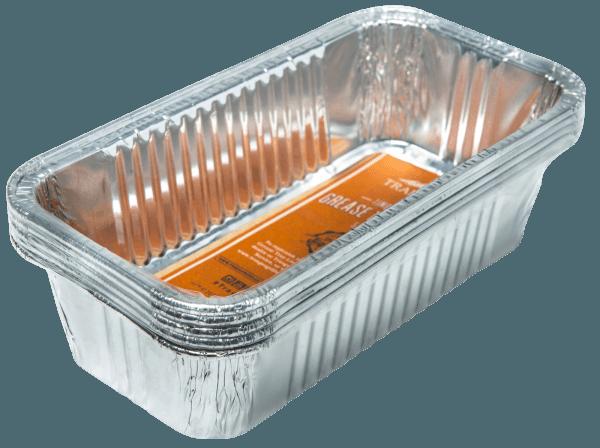 תבנית אלומיניום חד פעמית לאיסוף נוזלים למעשנת בשר טרייגר גריל