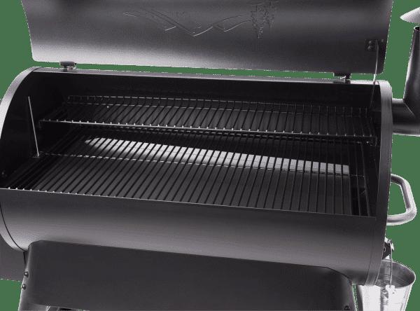 מעשנת בשר וגריל בשר דגם פרו 34 - טרייגר גריל מעשנה ושבבי עץ לעישון