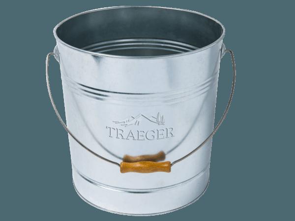 דלי מפח עם מכסה ומסנן - טרייגר גריל מעשנה