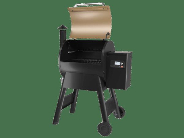 מעשנת בשר וגריל בשר של Traeger Grills דגם פרו 575 - טרייגר, מעשנה ביתית, כפיסי עץ, טאבון וערכת למנגל