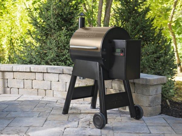 תנורי עישון בשר, מעשנת בשר ניידת, מעשנות בשר של חברת Traeger Grills - דגם פרו 575