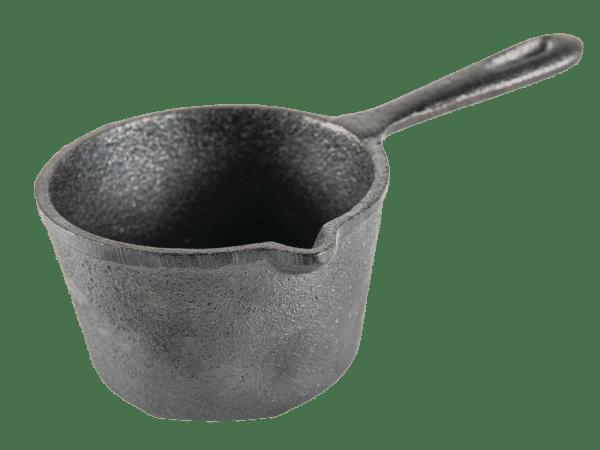 סיר לרוטב מברזל יצוק - טרייגר גריל, מעשנת בשר, טאבון, שבבי עץ לעישון, כלים למנגל ואביזרים למנגל
