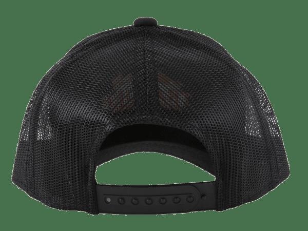כובע שחור עם לוגו של טרייגר -– טרייגר גריל, מעשנה, עצי פאלטס, כיסויים למנגל ותבלינים לעל האש