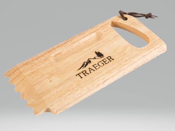 מגרדת מעץ לרשתות הגריל - טרייגר גריל, מעשנת בשר, טאבון, כפיסי עץ לעישון, כלים למנגל ואביזרים למנגל