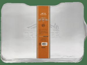 ציפוי אלומיניום חד פעמי למגש איסוף לדגם איירונווד 650 - Traeger Grills, מעשנת בשר, טאבון, שבבי עץ לעישון, ערכת מנגל, כיסוי למנגל ואביזרים למנגל