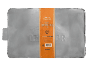 ציפוי אלומיניום חד פעמי למגש האיסוף לדגם ברונסון - Traeger Grills, מעשנת בשר, טאבון, שבבי עץ לעישון, ערכת מנגל, כיסוי למנגל ואביזרים למנגל