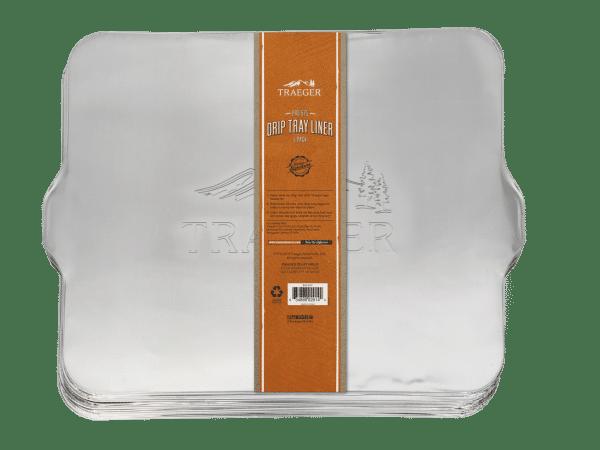 ציפוי אלומיניום חד פעמי למגש האיסוף לדגם פרו 575 - Traeger Grills, מעשנת בשר, טאבון, שבבי עץ לעישון, ערכת מנגל, כיסוי למנגל ואביזרים למנגל