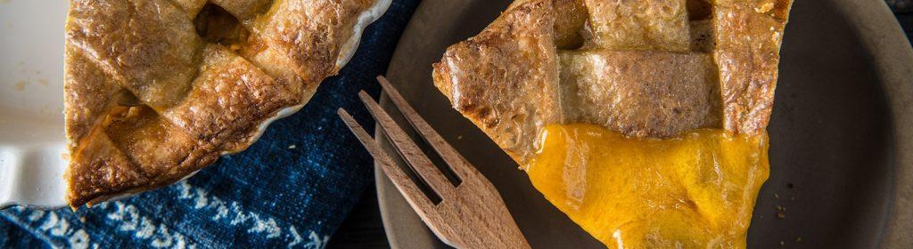 מתכון למעשנה פאי תפוחים עם גבינת צ'דר - טרייגר מעשנת בשר, כפיסי עץ, תבלינים לעל האש, אביזרים למנגל וכלים למנגל