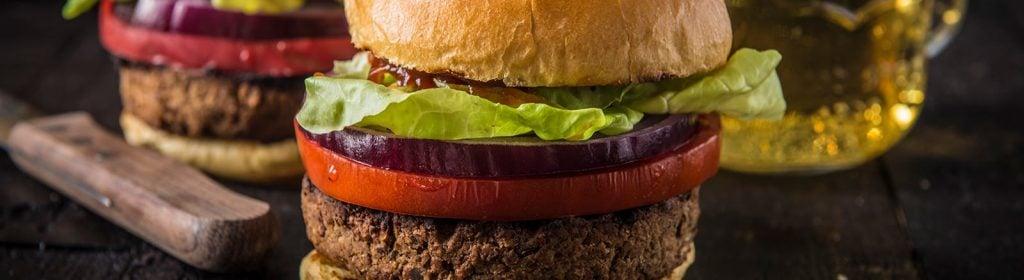 מתכון למעשנה, המבורגר צימחוני. טרייגר גריל, מעשנת בשר.