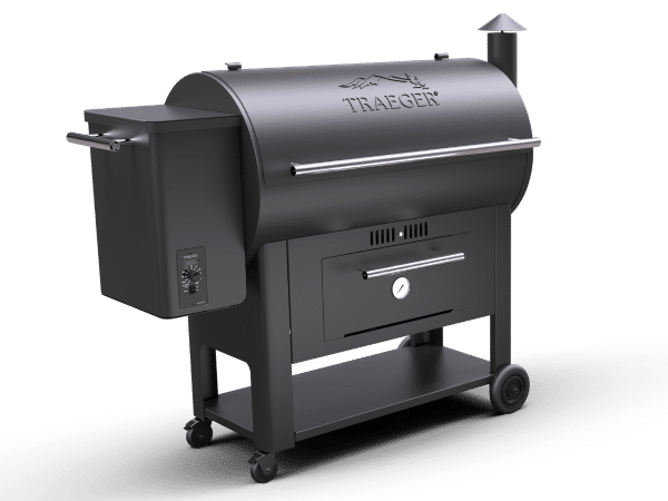 מעשנת בשר וגריל בשר דגם Traeger Century 34 של חברת טרייגר גריל המומחים בייצור ושיווק של מעשנות בשר,שבבי עת לעישון, כלים למנגל ואביזרים למנגל.