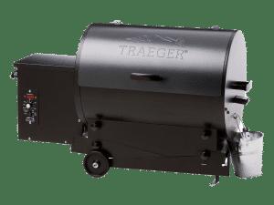 מעשנת בשר וגריל בשר דגם טיילגייטר של חברת Traeger Grills המומחים בייצור ושיווק של מעשנות בשר,שבבי עת לעישון, כלים למנגל ואביזרים למנגל.