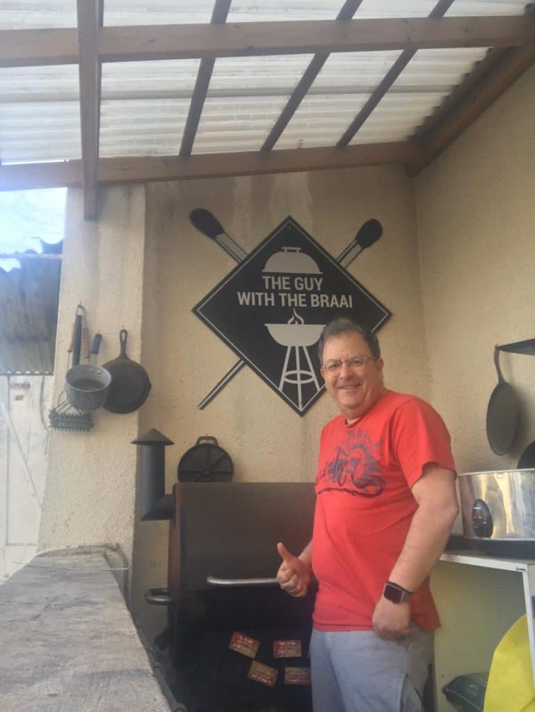 גארי שוגרמן מספר לנו על האגדה על מעשנת הבשר של טרייגר גריל ישראל