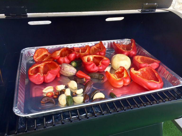 ירקות במעשנת בשר, הרבה מעבר לציפיות, טרייגר