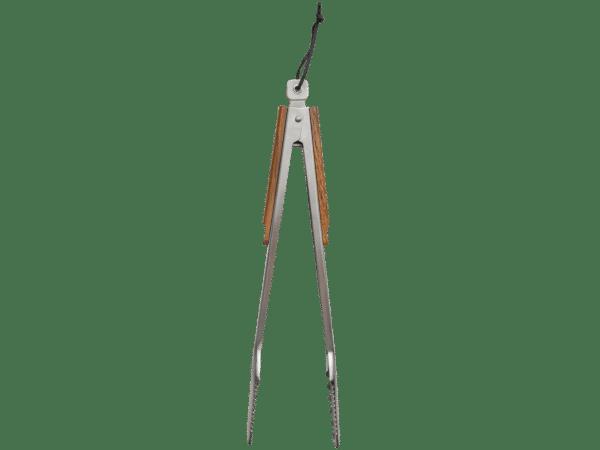 אביזרים למנגיל - מלקחיים למנגל מעץ ונירוסטה - טרייגר גריל