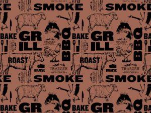 נייר קצבים רחב במיוחד לעיטוף נתחי בשר, טרייגר גריל מעשנות בשר איכותיות, שבבי עץ לעישון ואביזרים למנגל