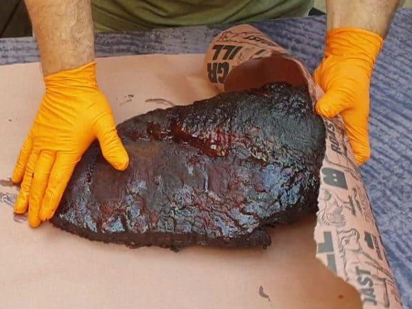 נייר קצבים רחב במיוחד לעיטוף נתחי בשר, טרייגר גריל מעשנות בשר איכותיות