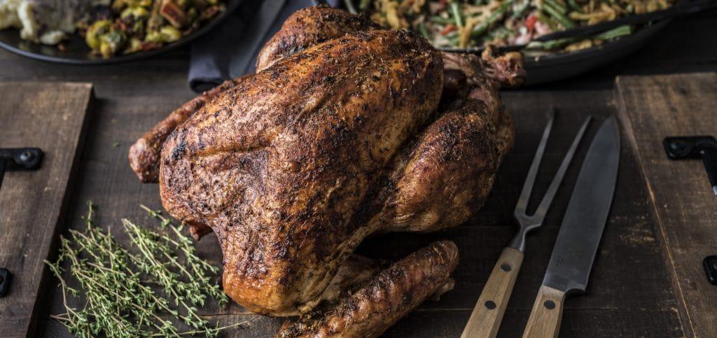 מתכון למעשנת בשר, הודו שלם, מתכון מסורתי לחג ההודיה Traeger Grills