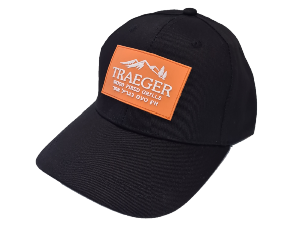 כובע שחור עם לוגו של טרייגר - Traeger Grills