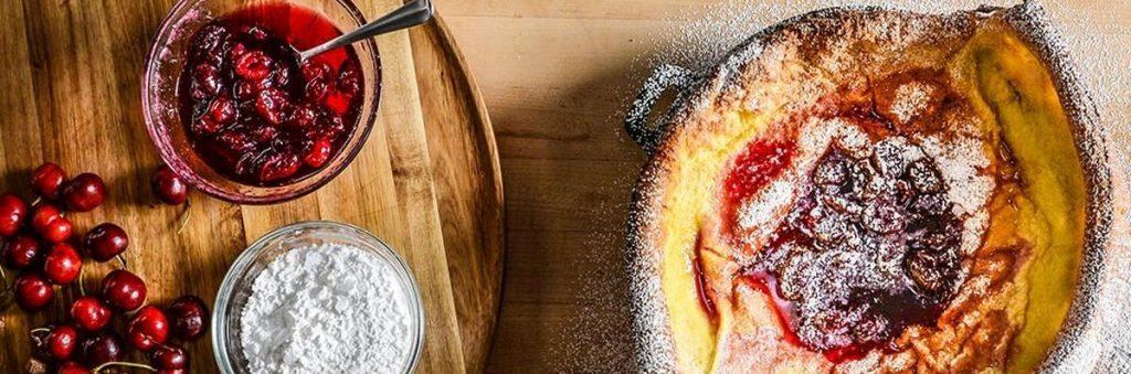 קינוח במעשנה, עוגת גבינה במחבת - טרייגר, גריל, מעשנת פלט וכלים למנגל